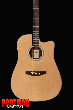 Ashton D46SCEQ Solid Top Acoustic