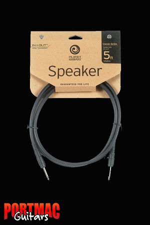 Planet Waves Classic Series 5ft Speaker Lead