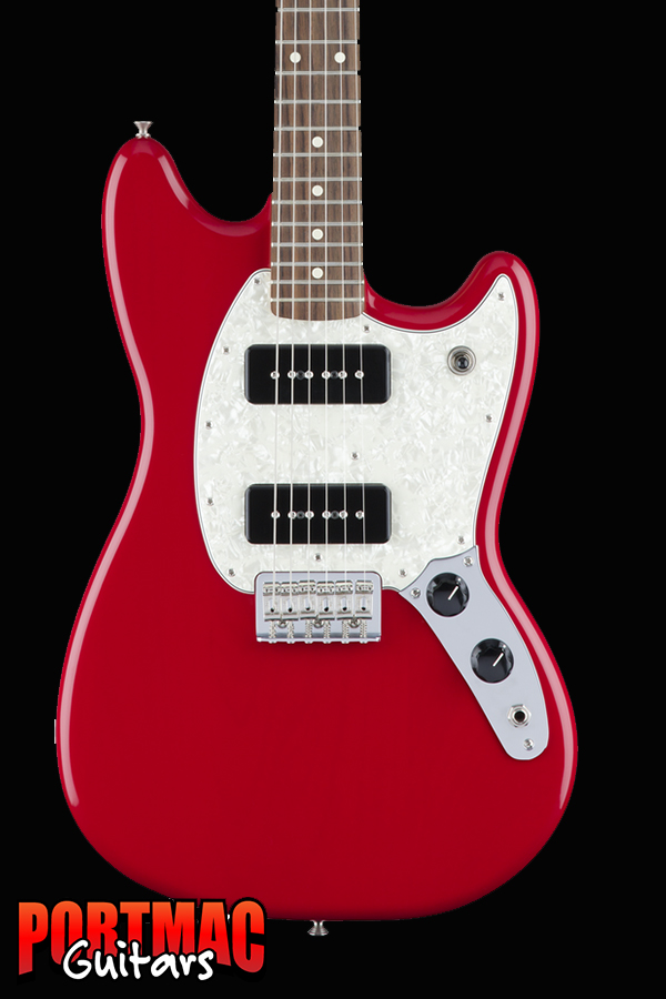 Fender Mustang 90 Torino Red Offset Electric Guitar
