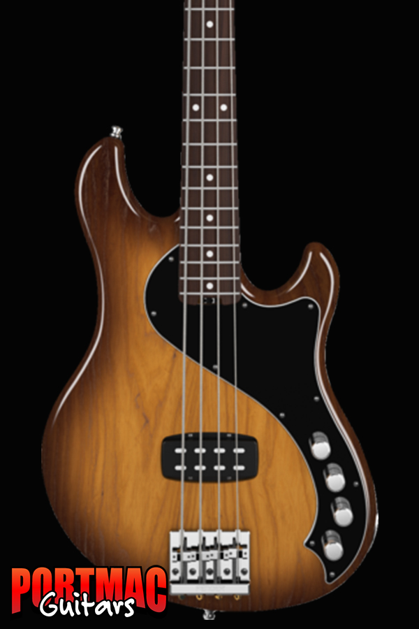 Fender American Deluxe Dimension Bass IV [Colour: Violin Burst Rosewood]