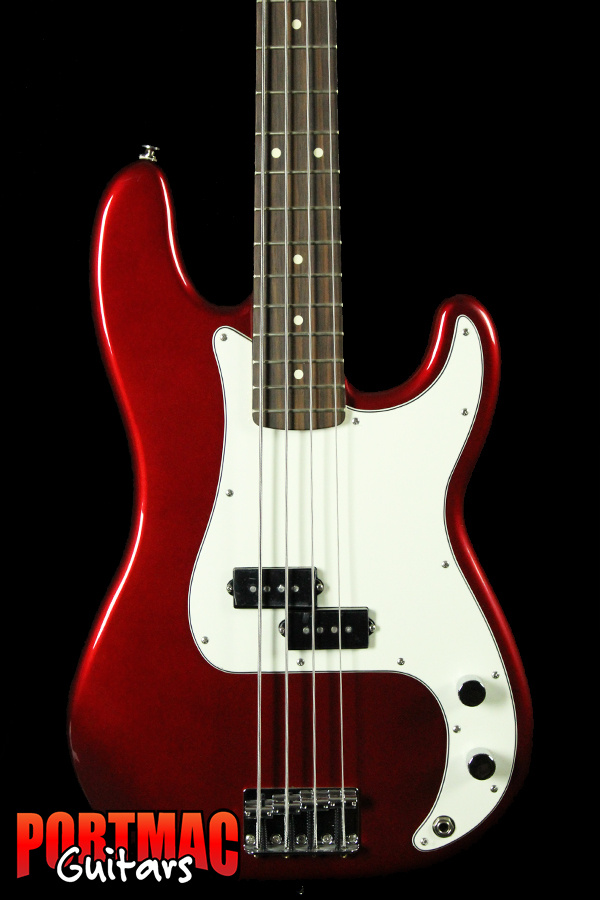 Fender Standard Precision Bass Rosewood Fingerboard Candy Apple Red