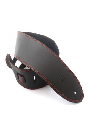 DSL SGE35 Black Single Ply Leather [Colour: Black/Orange]