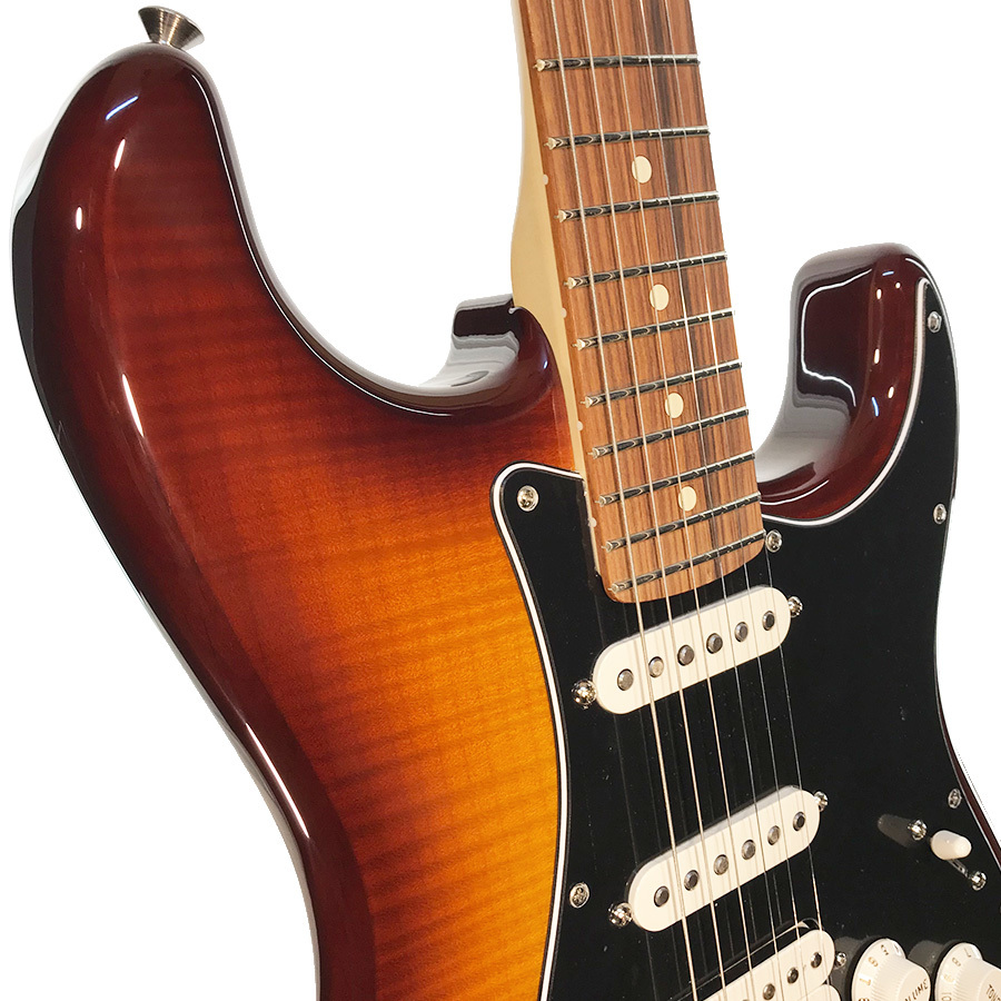 fender player stratocaster hss plus top tobacco sunburst pau ferro fretboard. Black Bedroom Furniture Sets. Home Design Ideas