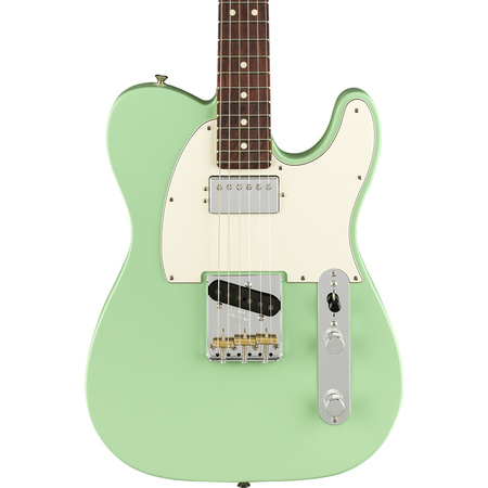 Fender American Performer Telecaster Humbucker Satin Surf Green
