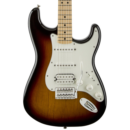 Fender Standard Stratocaster HSS Brown Sunburst Maple Fretboard