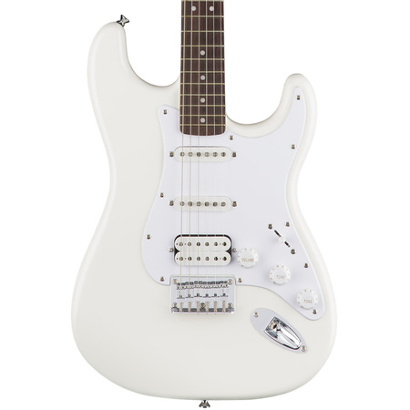 Squier Bullet Stratocaster HSS Hard Tail Laurel Fretboard Arctic White