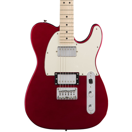 Squier Contemporary Telecaster HH Maple Fingerboard Dark Metallic Red