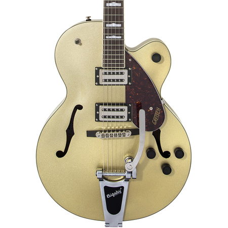 G2420T Streamliner Hollow Body with Bigsby in Golddust