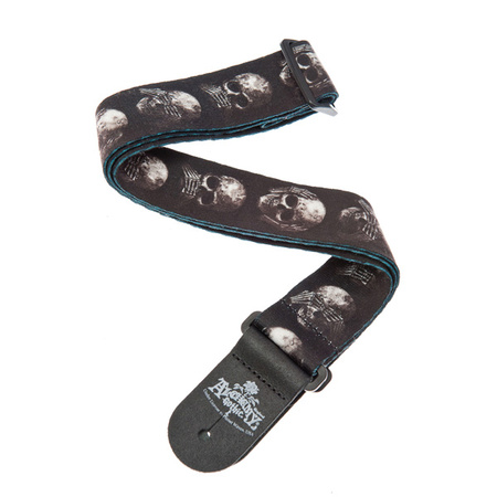 Planet Waves Alchemy Guitar Strap Muted Skulls