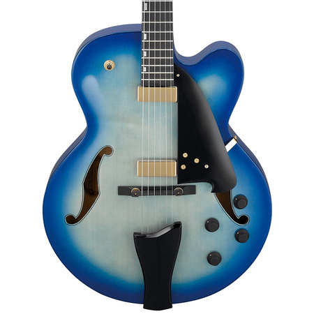 Ibanez AFC155 Jet Blue Burst Contemporary Archtop