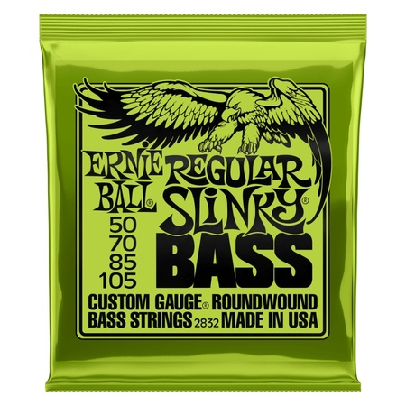 Ernie Ball Bass Set Regular Slinky 50-105 Strings