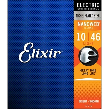 Elixir Electric 3Pack Nanoweb Coated Strings