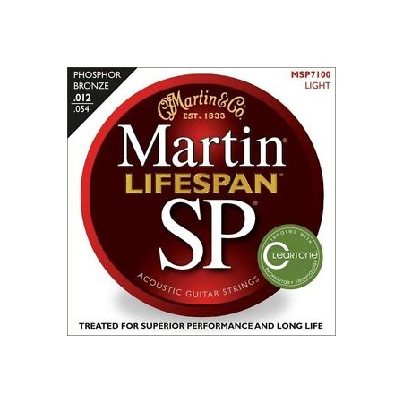 Martin Acoustic SP Lifespan 12-54 10Pk Lite Strings