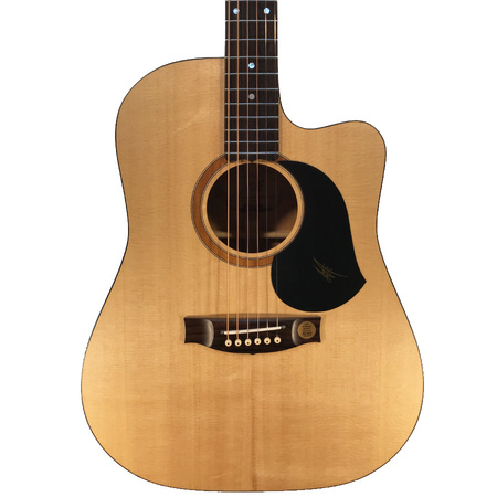 Maton SRS60C Acoustic Guitar with Pickup/Cutaway in Hard Case