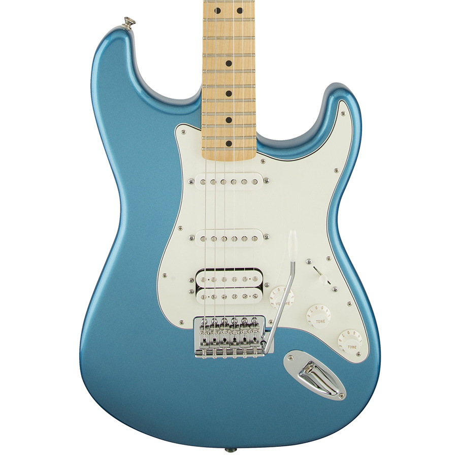Fender Standard Stratocaster HSS Lake Placid Blue Maple Fretboard