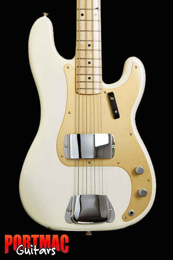 Fender AMERICAN VINTAGE '58 PRECISION BASS [Colour: White Blonde]