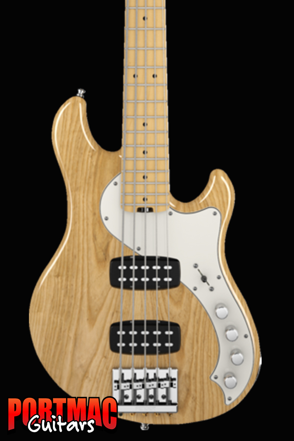 Fender American Deluxe Dimension Bass V HH [Colour: Natural Maple]