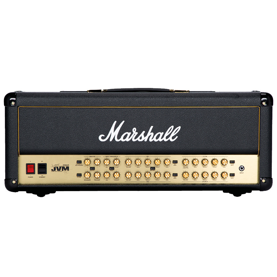 Marshall UK JVM410HJS Joe Satriani 100 Watt Valve Head