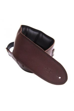 DSL GEG35 Brown with Padded Leather Backing [Colour: Saddle Brown/Black]
